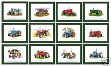 STOCK CLEARANCE - 1000 SUPERB SETS OF 12 TRACTOR PRINTS  -  ONLY  £ 2950 !!