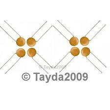 50 x 500pF 50V Ceramic Disc Capacitors - Free Shipping
