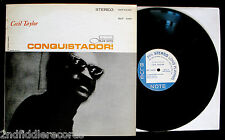 CECIL TAYLOR-CONQUISTADOR-Rare Promotional Only Jazz Album-BLUE NOTE #BST 84260