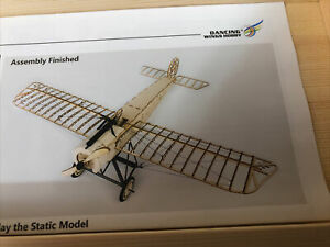 Fokker E VX08 Balsa Wood Model Kit DANCING WINGS HOBBY 1/23