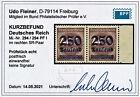 NEU: DR INFLA, Mi.Nr. 294 PF I, postfrisch Kurzbefund Weinbuch BPP einwandfrei