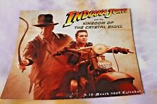 Indiana Jones Kingdom of Crystal Skull 16 month Calendar, 2009 Free Shp!
