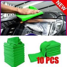 10 Pcs Microfiber Cleaning Cloth No-Scratch Rag Car Polishing Detailing Towel US