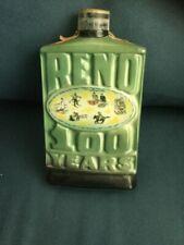 Vintage Jim Beam Reno 100 Years Regal China Decanter 1968