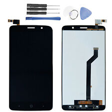 For ZTE Max XL N9560 LCD Display Touch Screen Digitizer Assembly Black + Tools