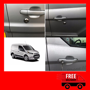 Ford Transit Connect 2014> Rear Slamlock Van Security Kit And Hykee Lock