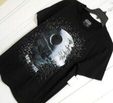 Mens STAR WARS DEATH STAR t shirt tee size Medium Black 100% Cotton