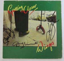 """PAUL McCARTNEY & WINGS Signed Autograph """"Getting Closer"""" 45 rpm 7"""" Record by 3"""