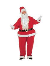 XXXL dicker Weihnachtsmann Kostüm Fatsuit Mütze Xmas