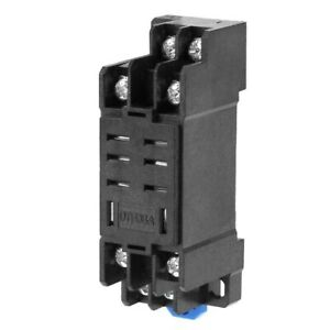 8 Pin Relay And Socket Base DPDT Electrical Equipment HH62P JQX-13F Supplies