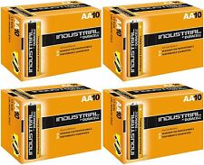40 Duracell Industrial AA Procell 4x10 pack Battery Alkaline