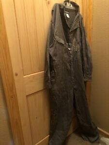 Bulwark FR gray overalls size 58 regular—-new