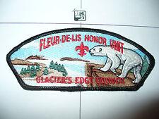 CSP Glacier's Edge Council,SA12,Honor Unit,Polar Bear,BLK Bd,OA 146,Wisconsin,WI