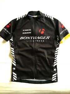 Bontrager Cycling Bicycle Bike Short Sleeve Full Zipper Black Size XS XSmall