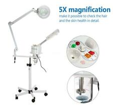 Facial Steamer & 5X Magnifying Lamp Uv Ozone Steamer Spa Salon Equipment Q5W5
