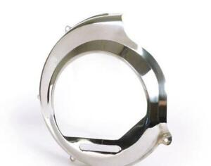 Stainless Steel Flywheel Cover Vespa PX 125 150 200 NON Electric Start Kick Only