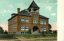 A View Of The Liberty Street School, Meriden, Connecticut CT 1907