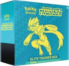 Pokemon Lost Thunder Elite Trainer Box 8 Booster Packs Sun & Moon PRESALE
