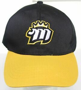 NWOT Memphis Mississippi River Kings Minor League Hockey Hat Black Yellow Cap