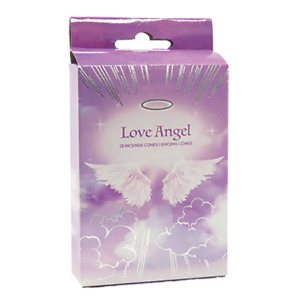 Love Angel Incense Cones Home Fragrances Aroma Scent Relaxing Holder Plate Insen