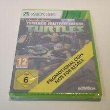TEENAGE MUTANT NINJA TURTLES TMNT - MICROSOFT XBOX 360 PROMO GAME - NEW & SEALED
