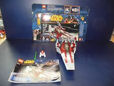 LEGO Star Wars Republic V-Wing #75039 COMPLETE