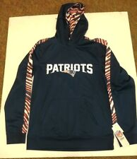 New England Patriots NFL Team Apparel Mens Pullover Hoody NWT Size Medium