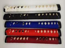 new tsuka, cotton-ito for iaito katana shinken iaido japanese sword  5 colours