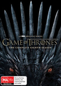 GAME OF THRONES : Season 8 Final : NEW DVD