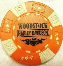 CA Collector Poker Chip Red//Black NEW Mathews Harley-Davidson® in Fresno
