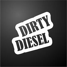 DIRTY DIESEL ASTRA VAN Funny Rude Car Window Bumper Graphic Vinyl Decal Sticker