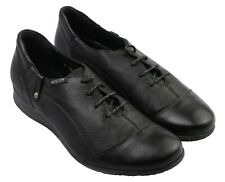 Ladies Lace Up Casual Shoe Mephisto Gazina Black UK Size 7.5