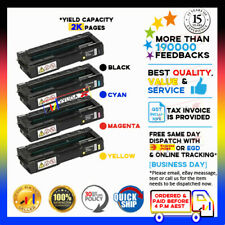 4 Generic Toner Cartridge for Lanier SP C220 C221 C222 C240 SPC220 SPC240 SPC221