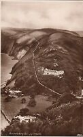 Postcard - Lynmouth - Countisbury Hill