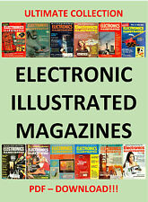 ELECTRONIC ILLUSTRATED MAGAZINE HUGE COLLECTION 1958 - 1972 - PDF DOWNLOAD!!!