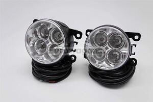 Suzuki SX4 S-Cross 13- Fog Lamps Set LED Daytime Running Light With Wiring OEM
