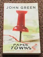 Paper Town by John Green (Paperback, 2008) LIKE NEW