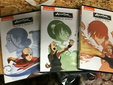 Avatar: The Last Airbender Complete Series Anime DVD Book 1 2 3 Nickelodeon