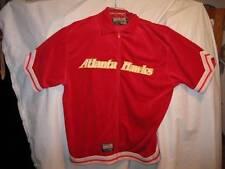 Red White & Yellow Atlanta Hawks Jacket Vintage NBA Basketball Size XXL 2XL (O)