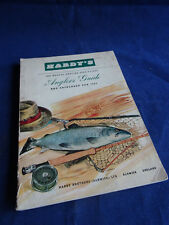 VINTAGE HARDY ADVERTISING FISHING CATALOGUE ANGLERS GUIDE FOR 1961