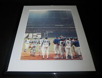 Hank Aaron Sets HR Record Braves Framed 11x14 Photo Display