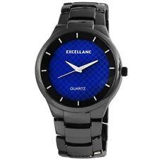 Polierte Armbanduhren mit Messing-Armband für Herren