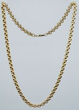 18'' Gold Link Chain 14k Yellow Gold 15.8g Rolo Chain