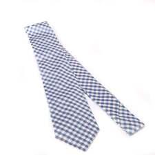 Duchamp of London Layered Plaid Check Tie