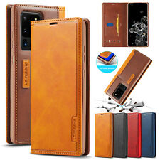 Leather Wallet Flip Case Cover For Samsung Note 20 Plus Ultra S30 S20 S10 S9 S8