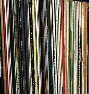 Vinyl Record Lot (5) 33rpm Mix of Big Band Oldies Classical Soundtrack Orch