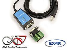 Convertisseur RS232 RS422 RS485 / USB avec antiparasite - EXAR XR21B1411 - 1.8m