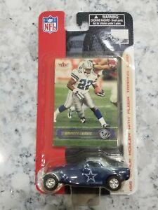 2002 Fleer NFL Dallas Cowboys Chrysler Howler Die Cast w/ Emmitt Smith Card
