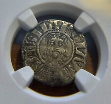 FRANCE, Limoges (1100-1245) Abbey of Saint Martial - Silver Denier, NGC VF-30