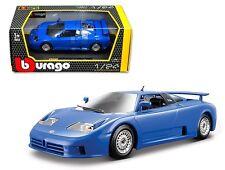 Bburago 1:24 W/B Bugatti Eb 110 Diecast Car Model Blue 18-22025 Bl